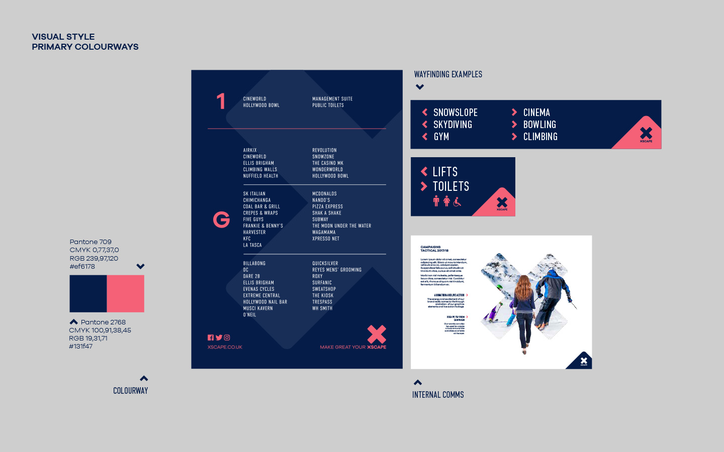 Xscape brand guidelines