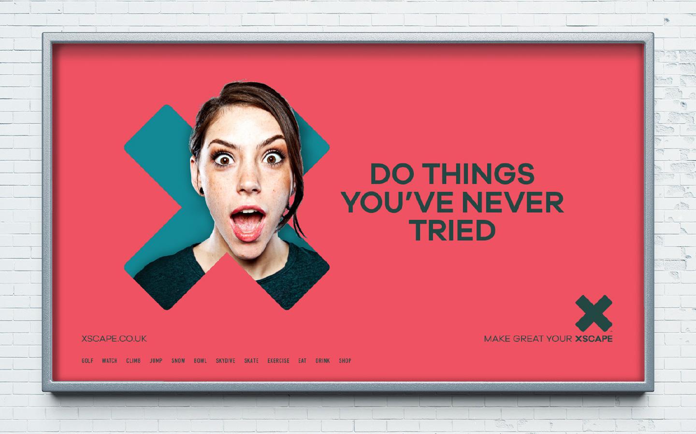 Xscape advertising