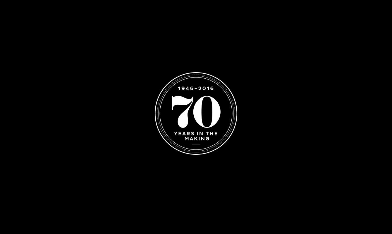 Graham & Brown Anniversary logo