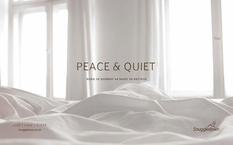 Snuggledown peace and quiet