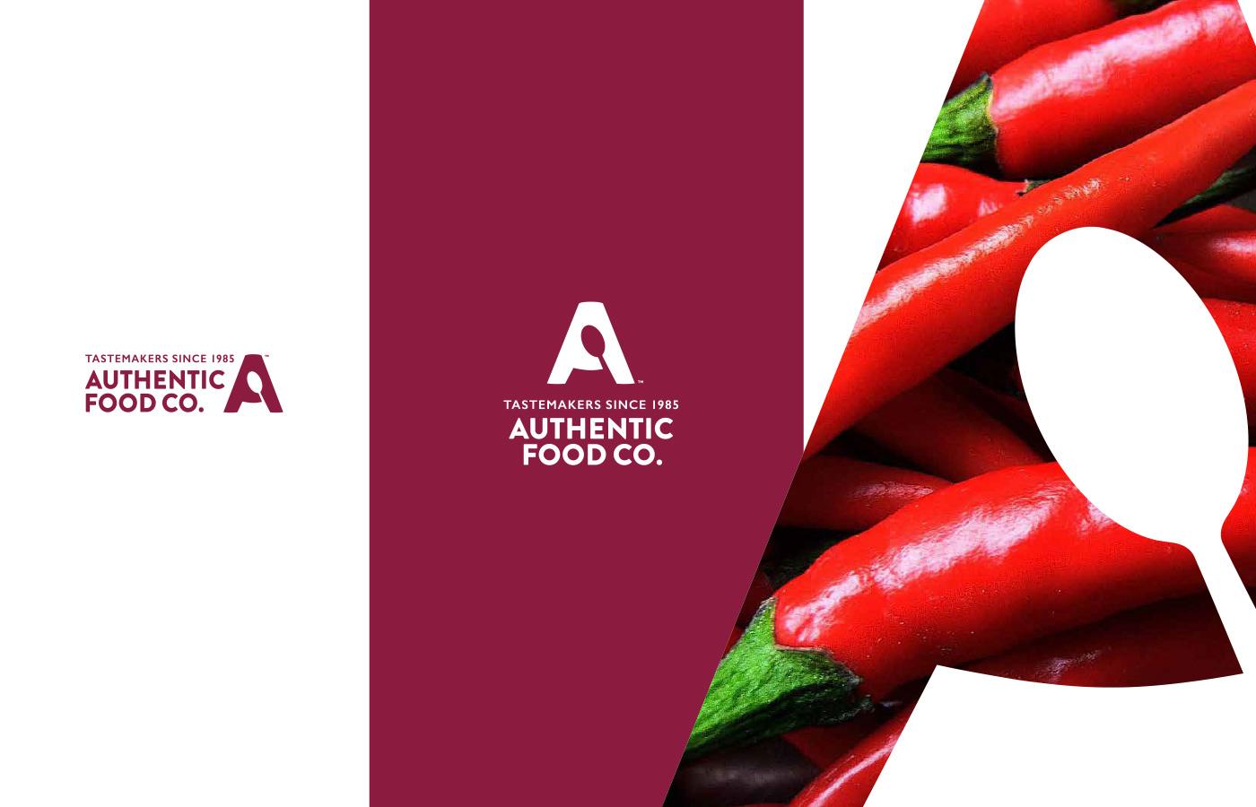 The Authentic Food Co. brandmark