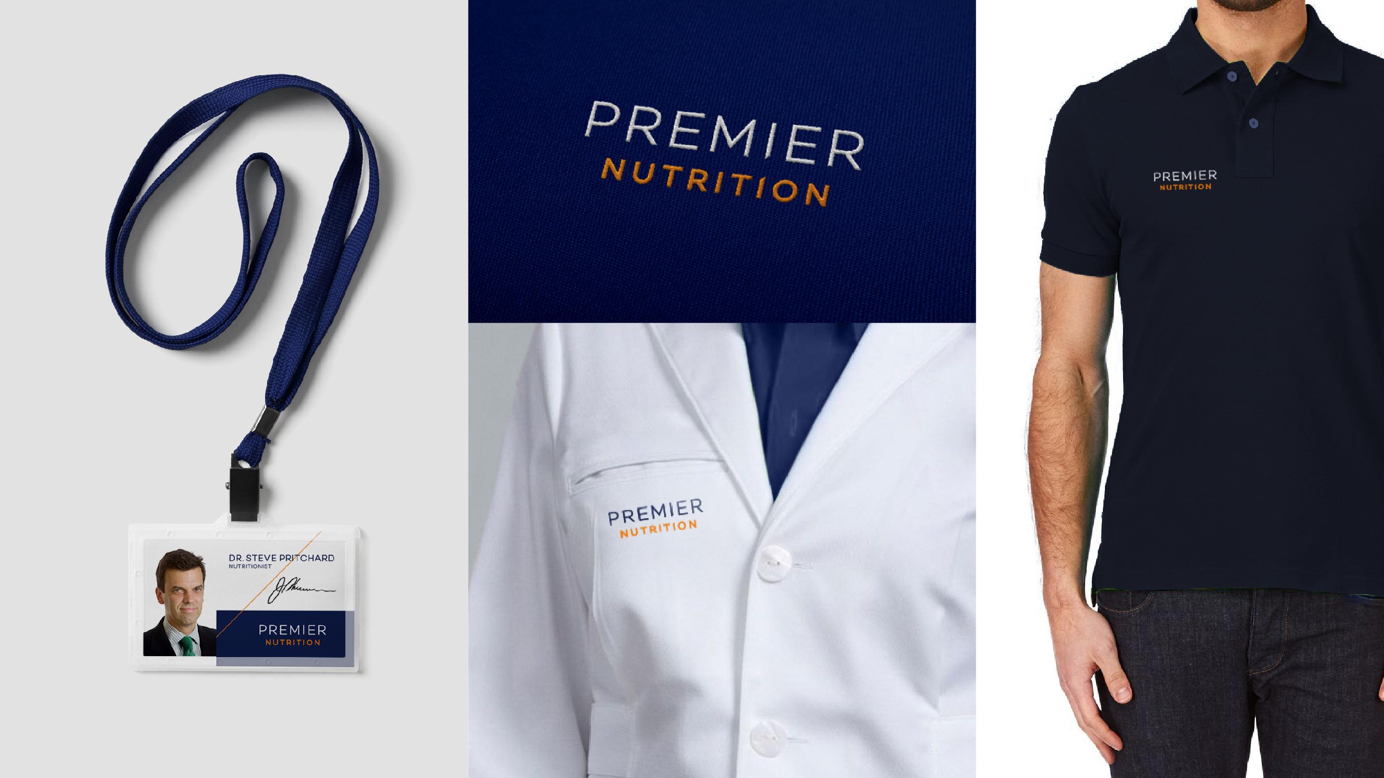Premier Nutrition workwear