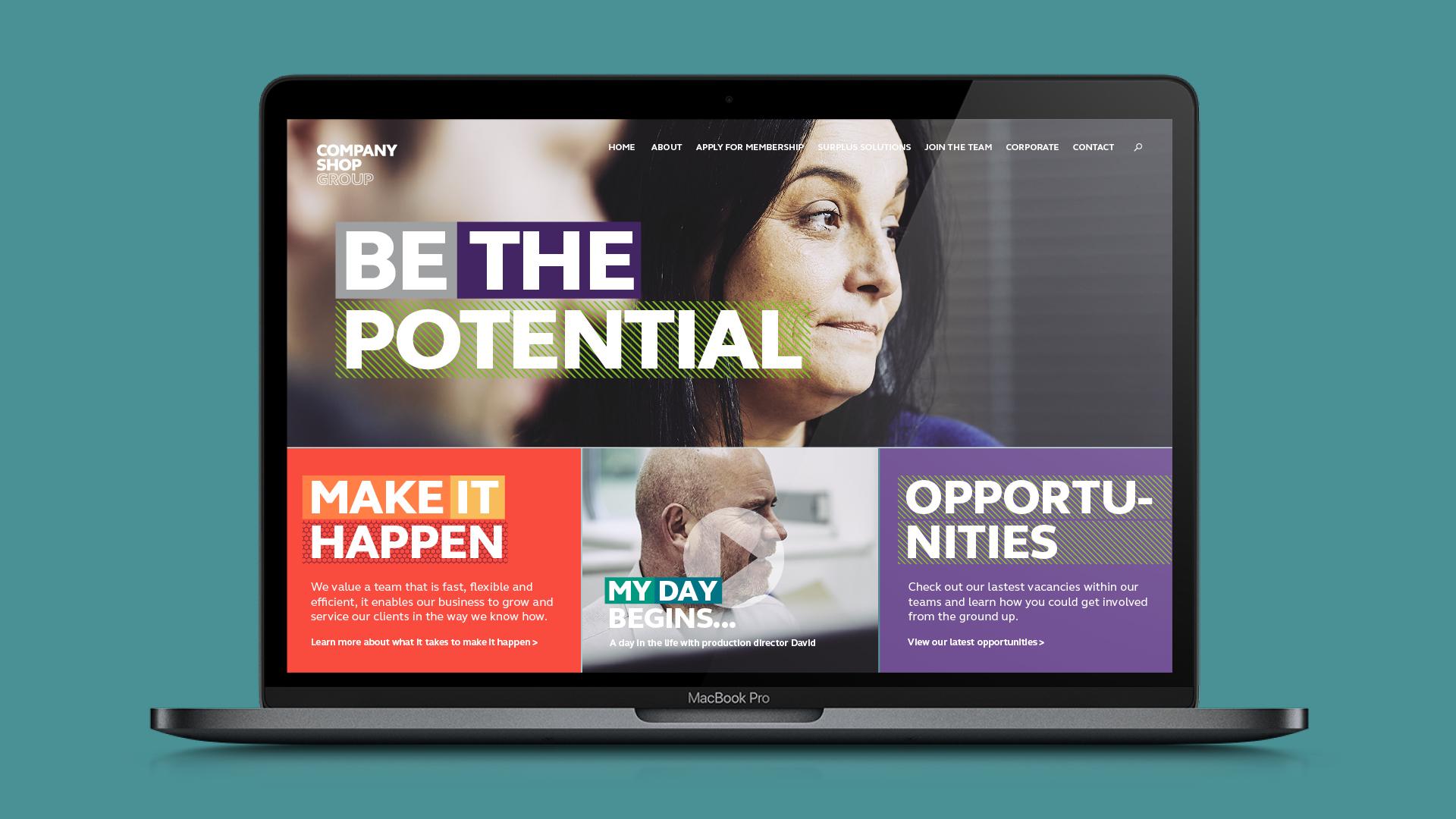 CSG Website Design