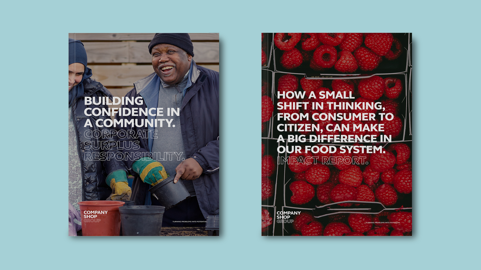 CSG Printed Brochures
