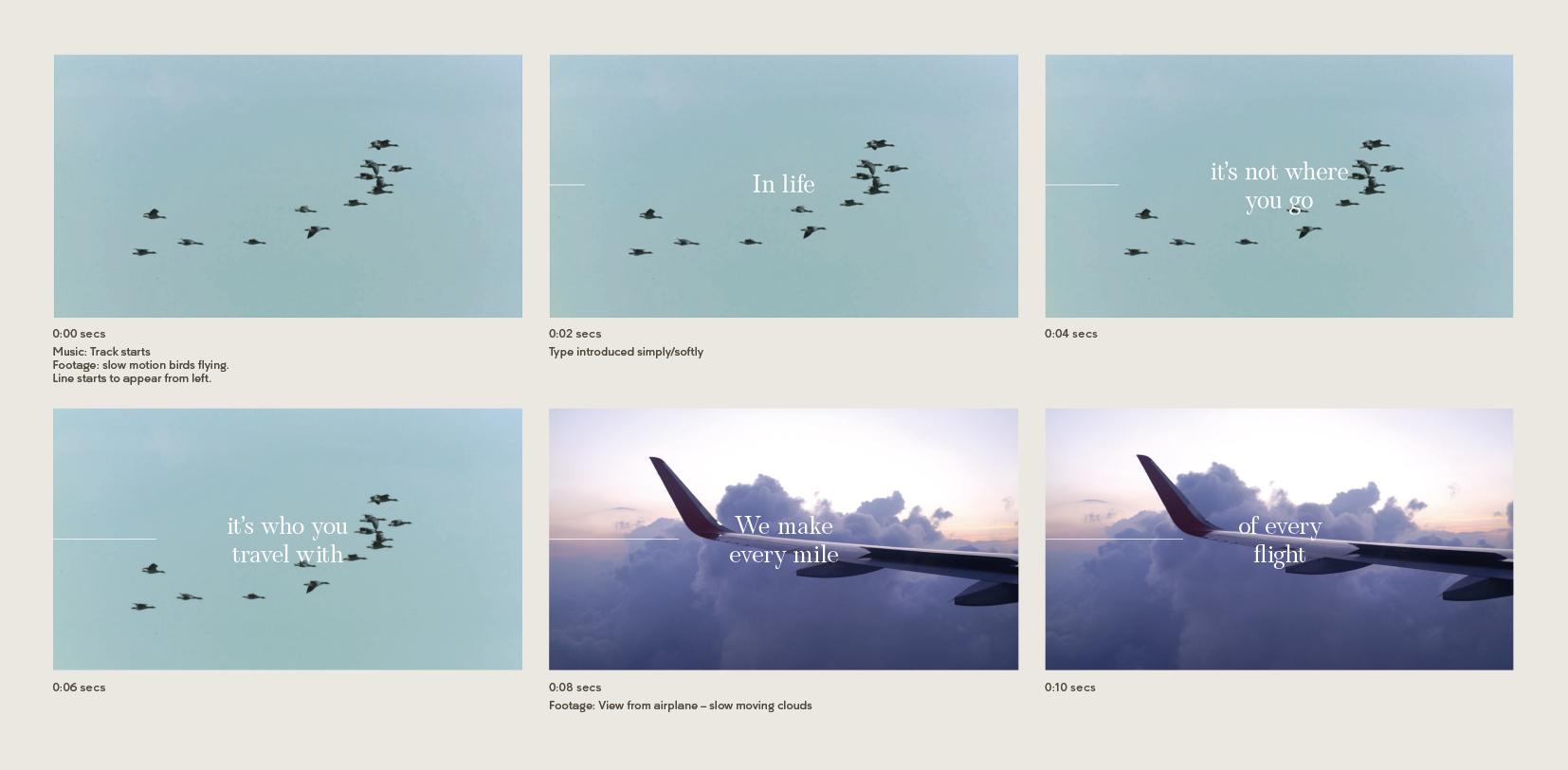 John Horsfall Brand Film Storyboard 1