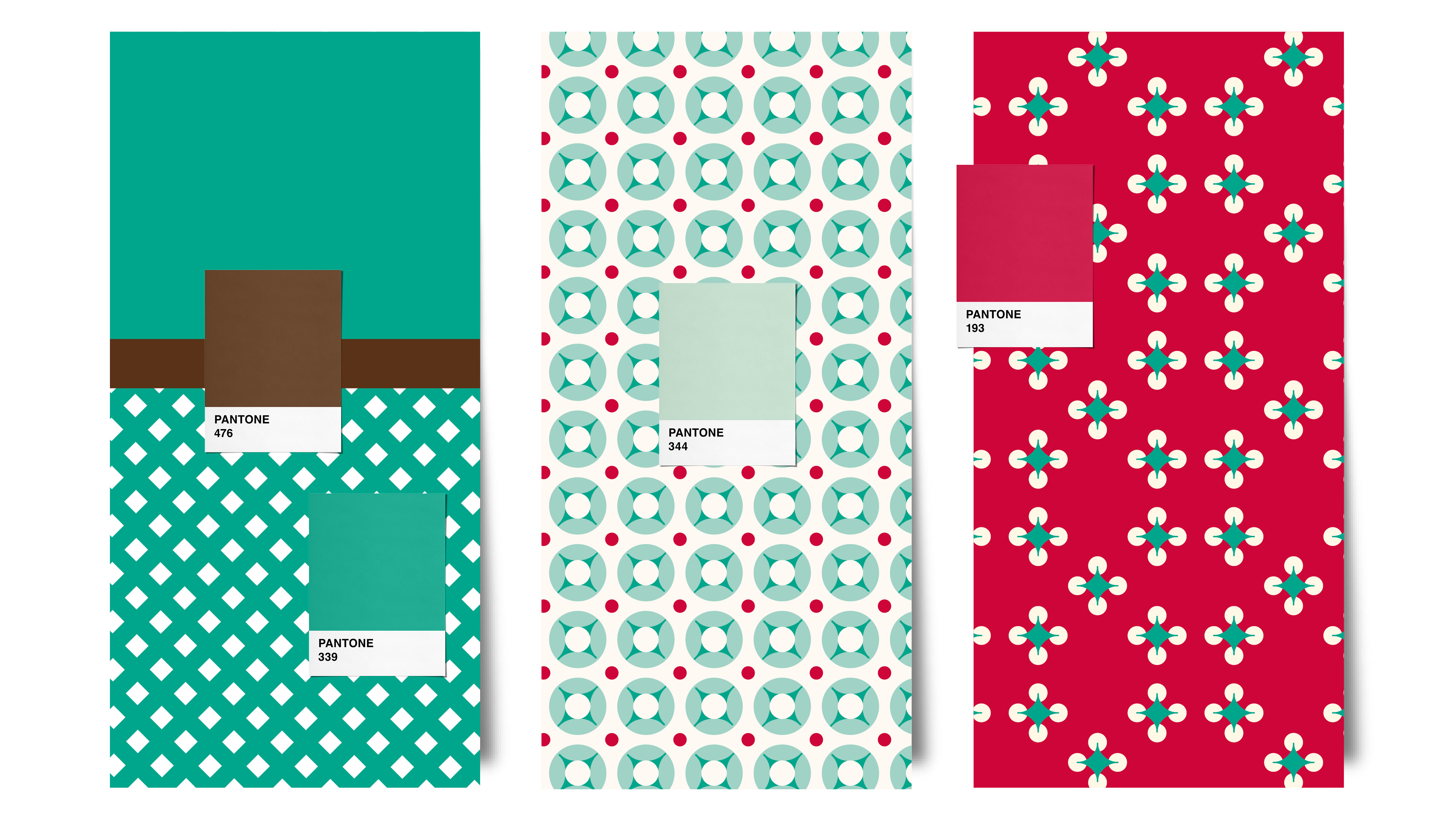Pattern and colour for Fanny's Cupcakes