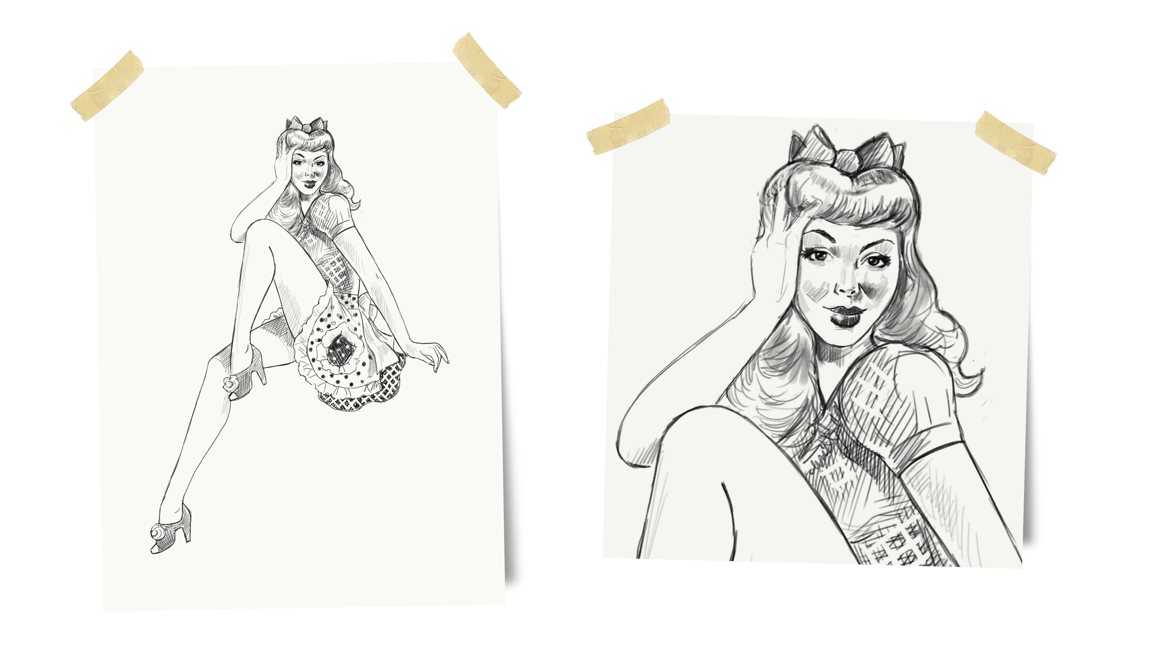 Fanny's Cupcakes sketches
