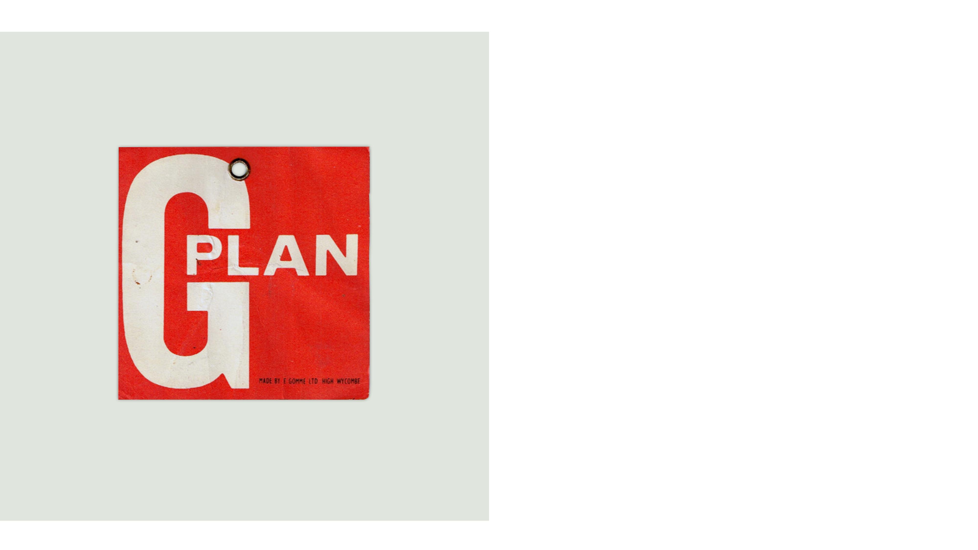 G Plan brand positioning