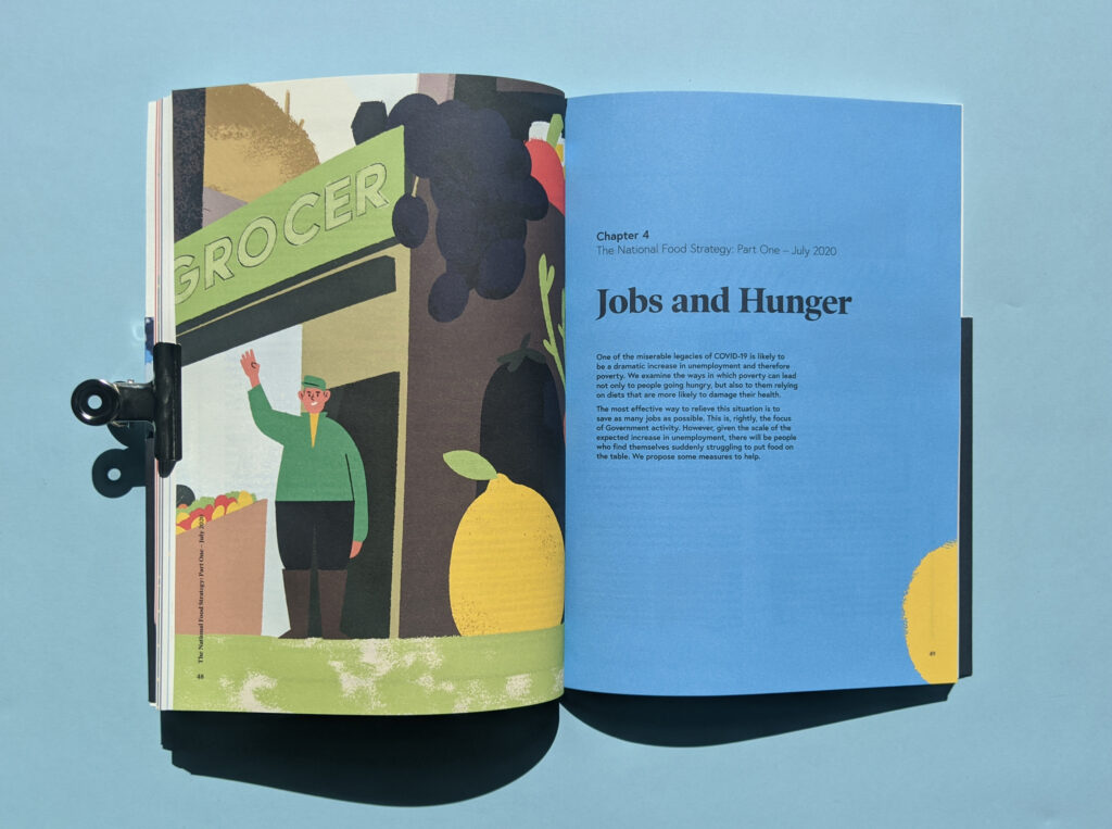 National Food Strategy Report Chapter Dividers