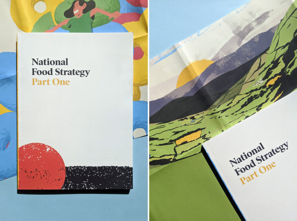 National Food Strategy Report Cover Wrap