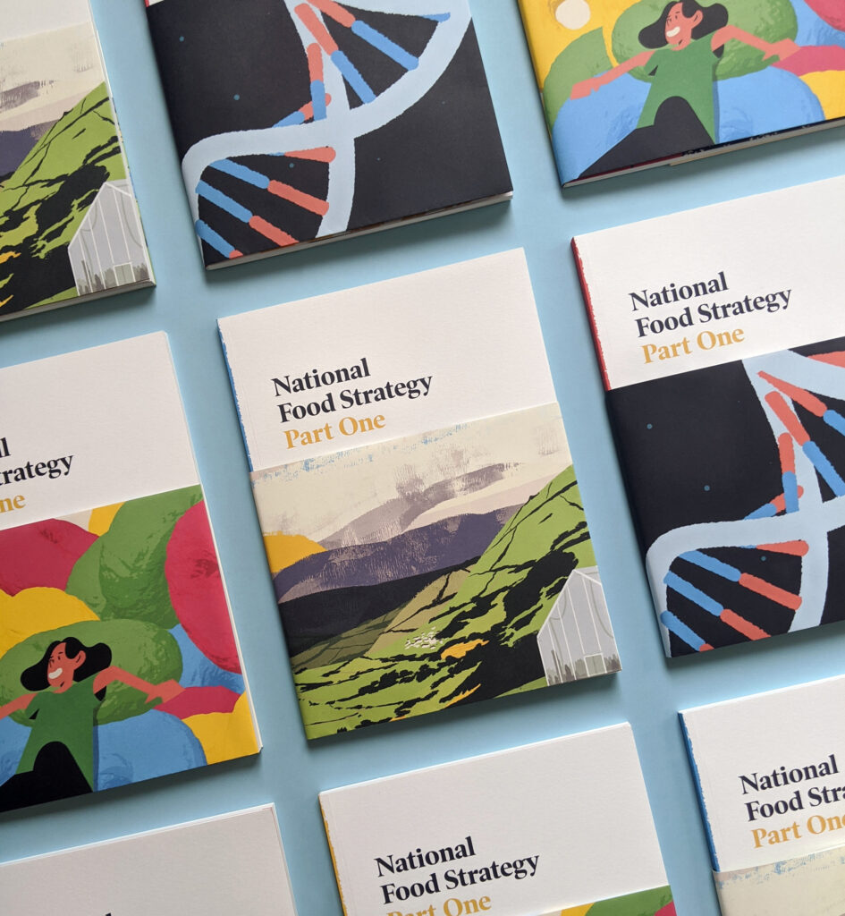 National Food Strategy Report Covers